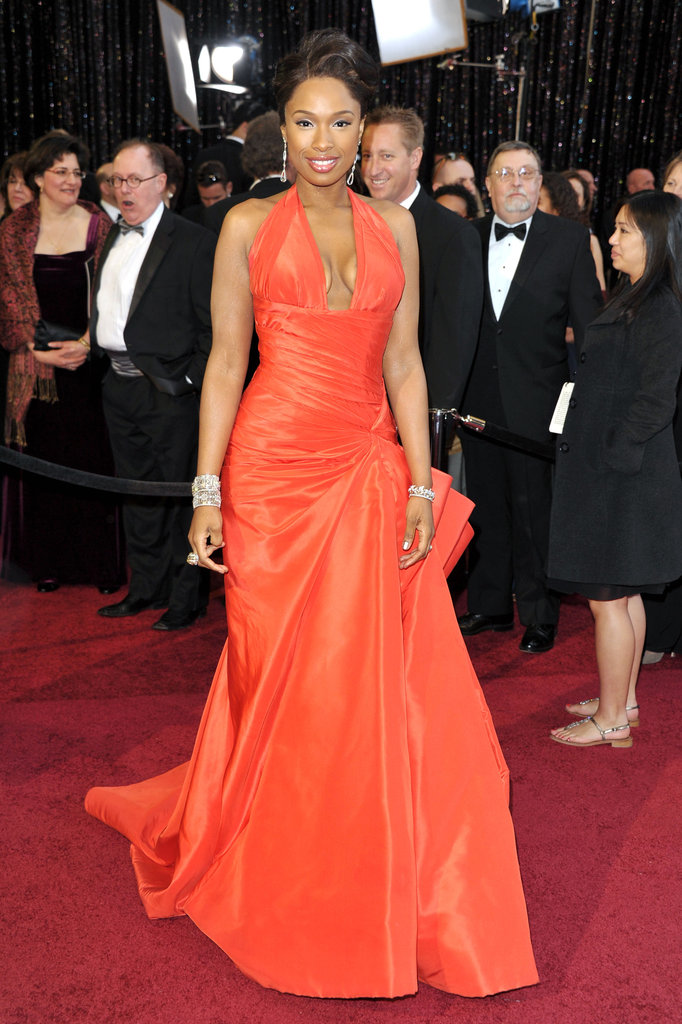 Jennifer Hudson at the 2011 Academy Awards