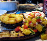 Grilled Pineapple on a Burger