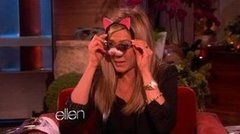 "Video: Jennifer Aniston Talks Her ""Honey"" Justin Theroux's Dancing and Her Dog Sophie on Ellen"