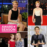 Pictures From Golden Globe Winner Michelle Williams's Award Season So Far!