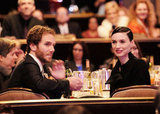 Rooney Mara and Charlie McDowell were together at the Costume Designers Guild Awards.