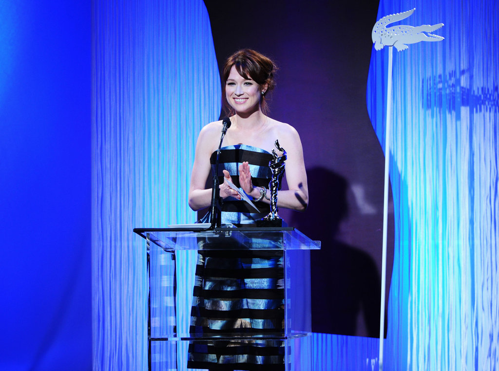 Ellie Kempner spoke at the Costume Designers Guild Awards.