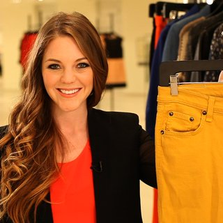 3 Ways to Wear Yellow Denim