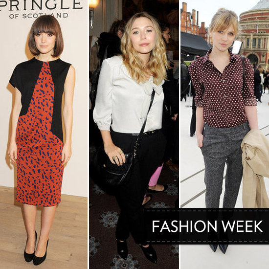 Celebs Show Standout Style at London Fashion Week