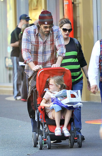 Ben Affleck and Jennifer Garner Take Their Princesses to Disneyland
