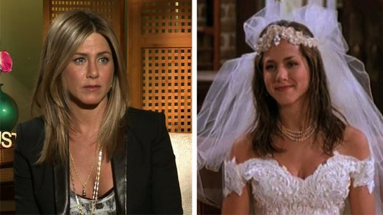 "Video: Jennifer Aniston Believes Ross and Rachel Are ""100% Together"" but Doubts Friends Film"