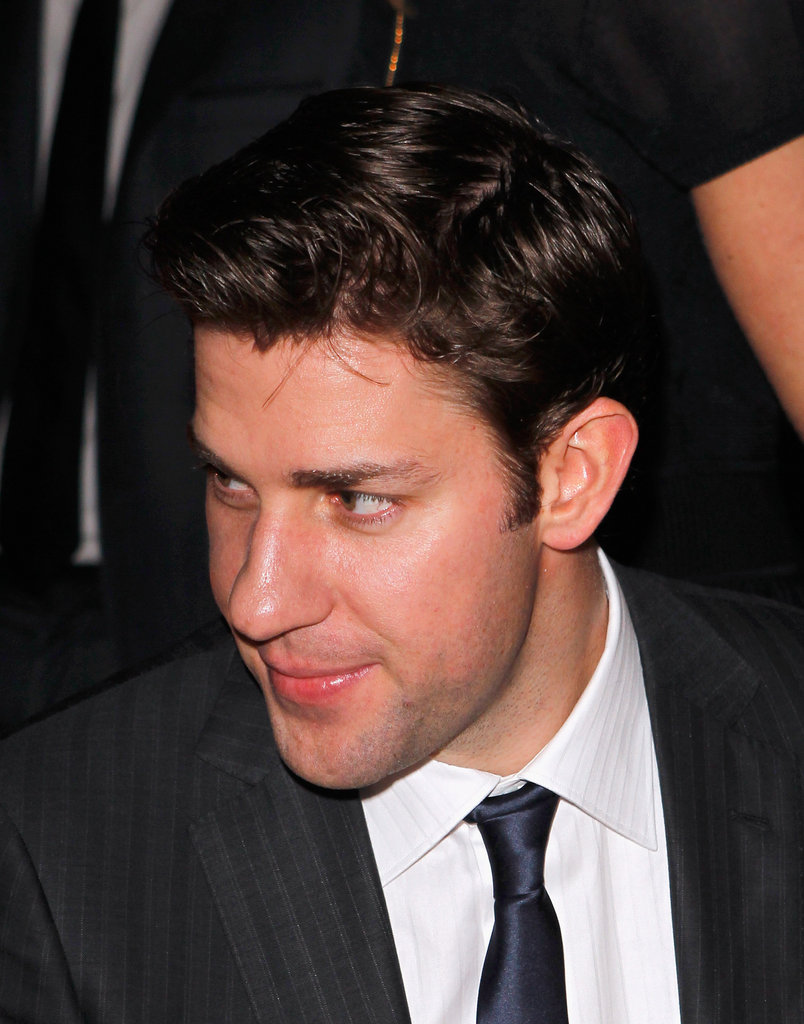 John Krasinski made the rounds at a pre-Oscars event.