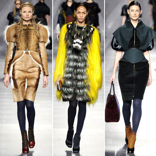 Fendi Runway Fall 2012