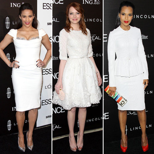 Pictures of Celebrities at the Essence Black Women in Hollywood Luncheon: Kerry Washington, Emma Stone and Paula Patton