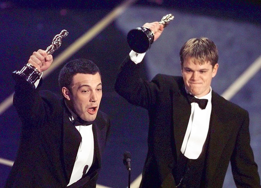 Ben Affleck and Matt Damon, 1998