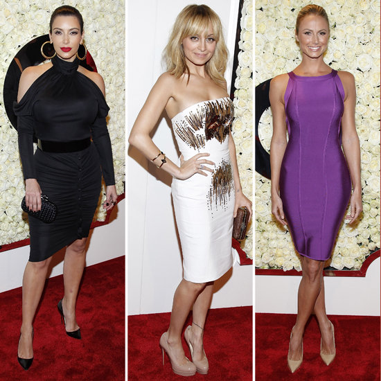 Nicole Richie, Kim Kardashian, Stacy Keibler Pictures at QVC Buzz on the Red Carpet Party