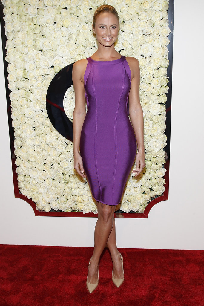 Stacy Keibler hit the red carpet in LA.
