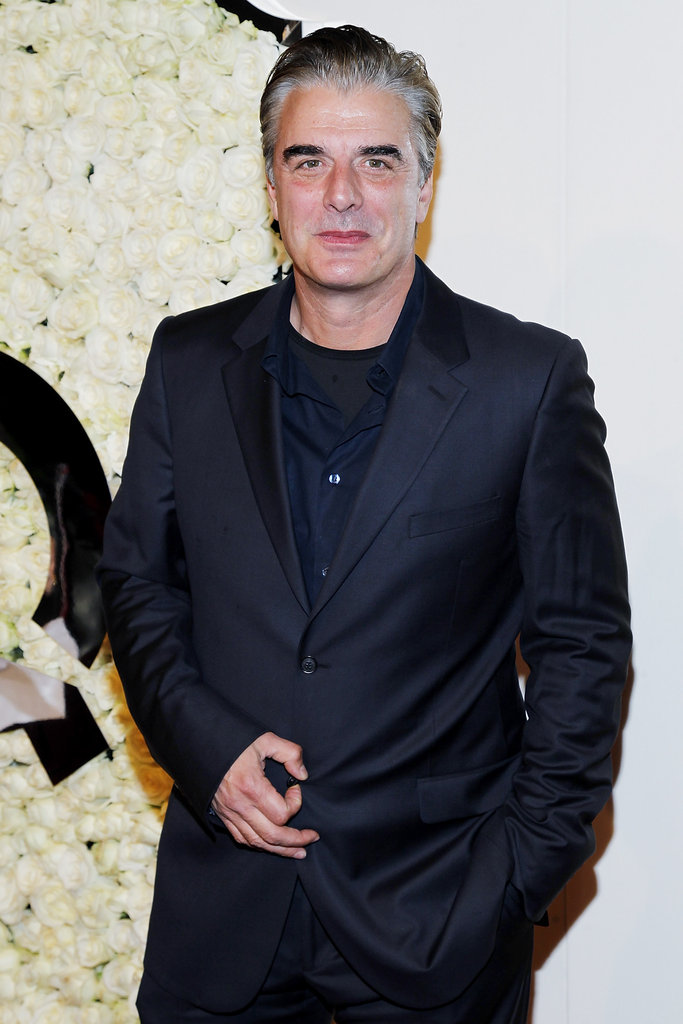 Chris Noth attended QVC's Buzz on the Red Carpet party and broadcast at the Beverly Hills Four Seasons Hotel.