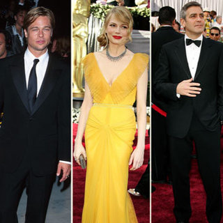 Video of 2012 Oscar Nominees Then and Now: Brad Pitt, Michelle Williams, George Clooney and More