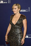 Kate Winslet at the César Awards in Paris.