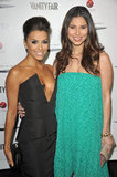 Eva Longoria and Roslyn Sanchez caught up.