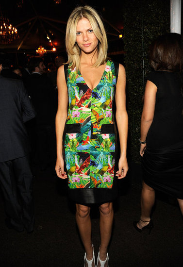 Brooklyn Decker attended a pre-Oscars party.