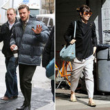 Jessica Biel Stops by Justin Timberlake's NYC Set With a Smile