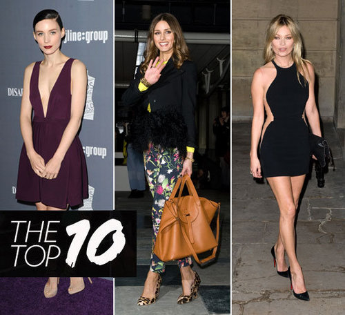 Pictures of This Week's Top Ten Best Dressed Celebrities 26th February 2012 Kate Bosworth, Olivia Palermo, Teresa Palmer & More