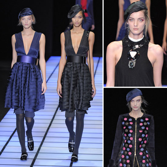 Emporio Armani Runway Fall 2012