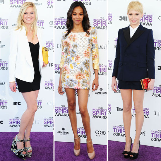 See Who Wore What at the Independent Spirit Awards!