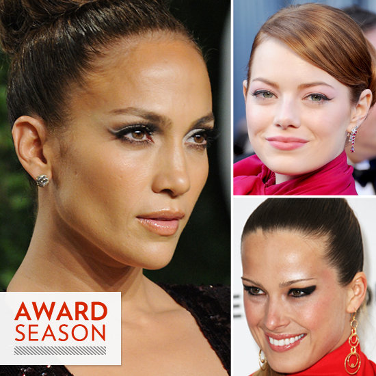 2012 Top Oscars Trend: Flirty, Flippy Eyeliner