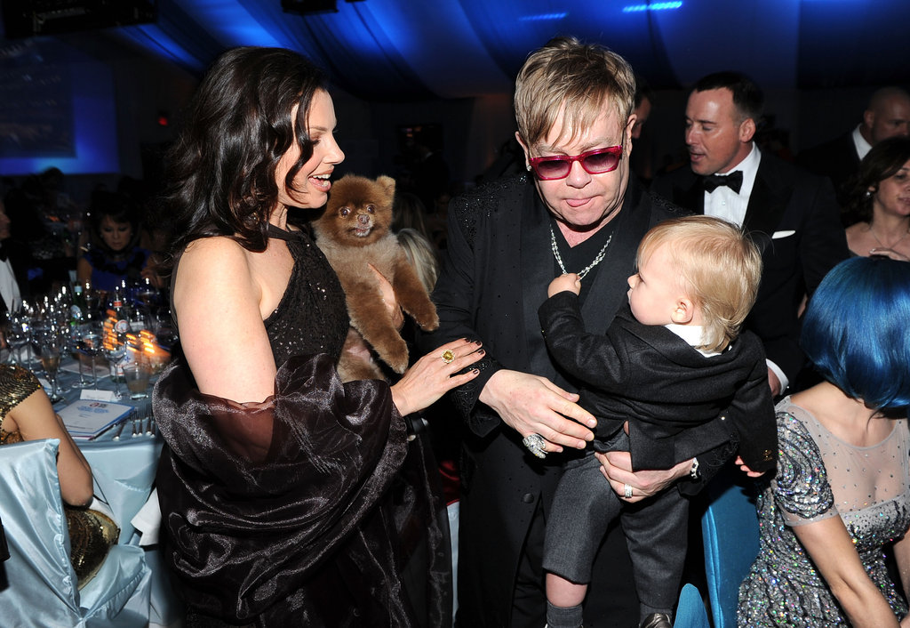 Nina, Ian, Gwen, Chace and More Let Loose Inside Elton John's Charitable Oscar Party