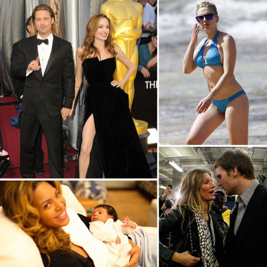 The Hottest February Headlines — Oscars, Super Bowl, Bikini-Clad Scarlett, and Blue Ivy's Debut
