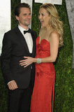 Kate Hudson gets giddy with her man Matt.