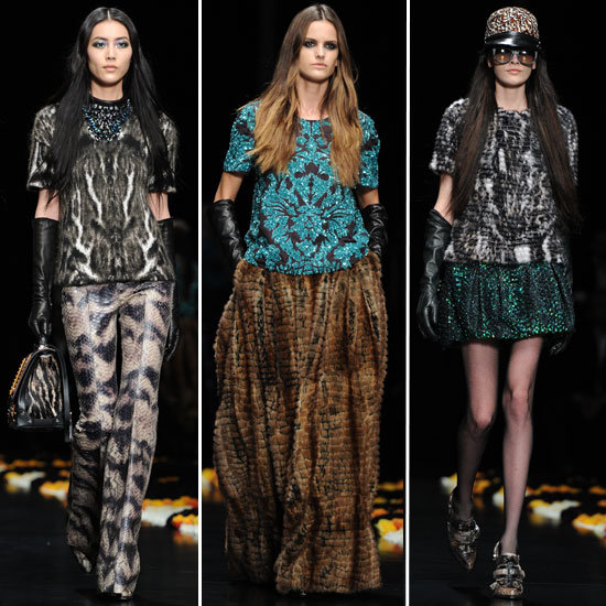 Roberto Cavalli Runway Fall 2012