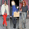 Celebrities at Milan Fashion Week Fall 2012