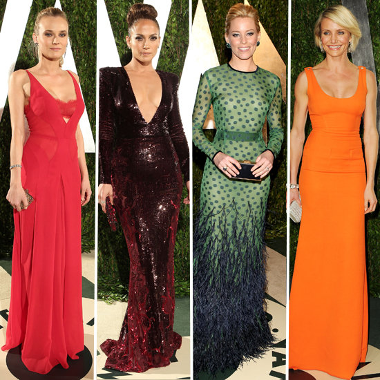 Stars Step Out in Style at Vanity Fair Oscars Party