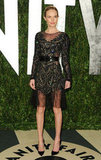 Upon closer inspection, Kate Bosworth's beaded Prabal Gurung dress was pretty much sheer all over.