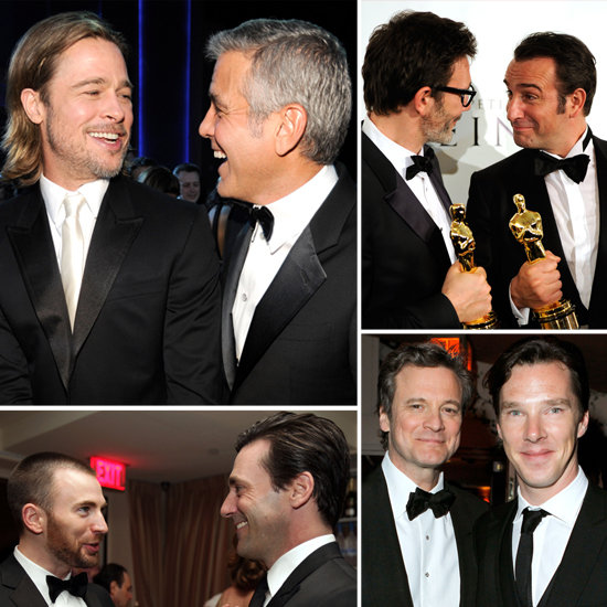 The Most Bromantic Moments of the 2012 Award Season