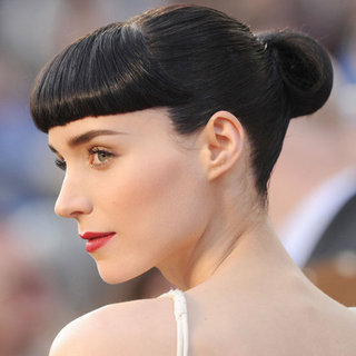 Rooney Mara's 2012 Oscarss Hair and Makeup Look