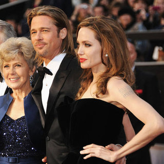 Angelina Jolie and Brad Pitt Award Season 2012 Pictures