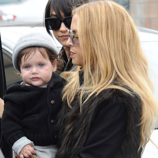 Rachel Zoe carried Skyler.