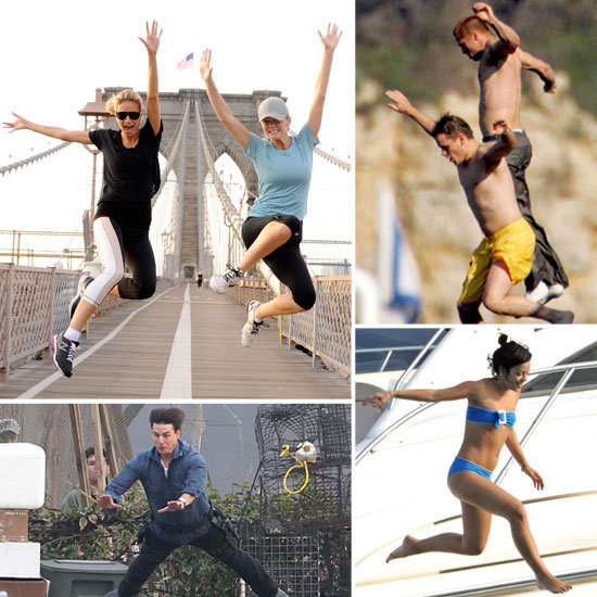 Happy Leap Year — Celebrate With 29 Pictures of Stars Jumping!