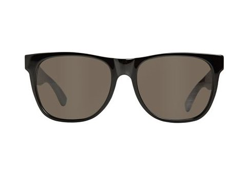 No-muss, no-fuss shades for that quintessential cool. Super Basic Wayfarer Sunglasses ($117)