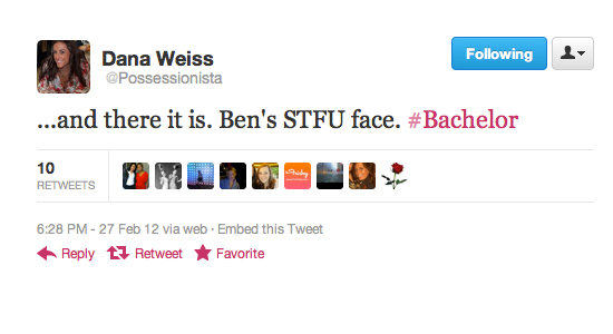 Dana Weiss points out that Ben has little patience for Kacie B.