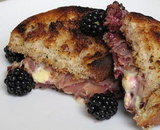 Blackberry-Brie Panini