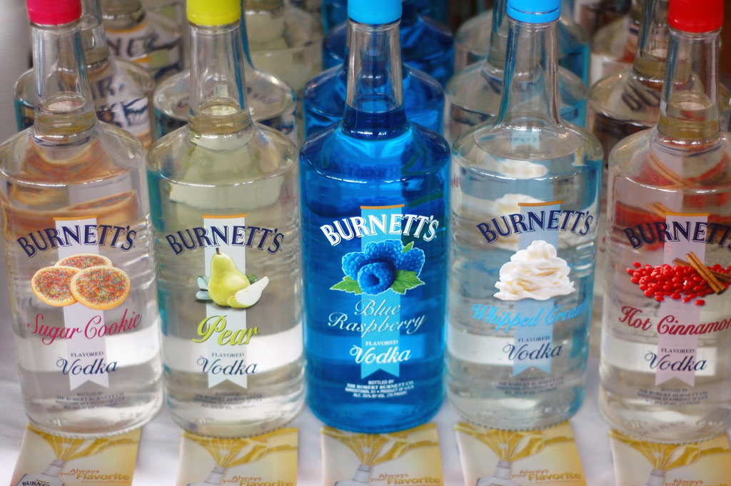 Burnett's Flavored Vodkas