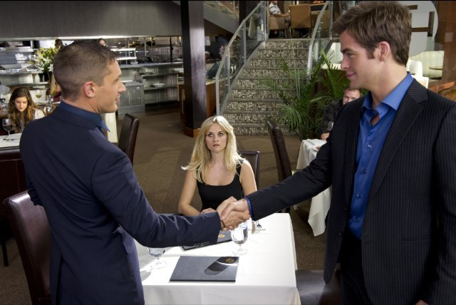 Hottest Love Triangle: Reese, Tom, and Chris in This Means War