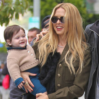 Rachel Zoe, Skyler Berman and Joey Maalouf at Lunch Pictures