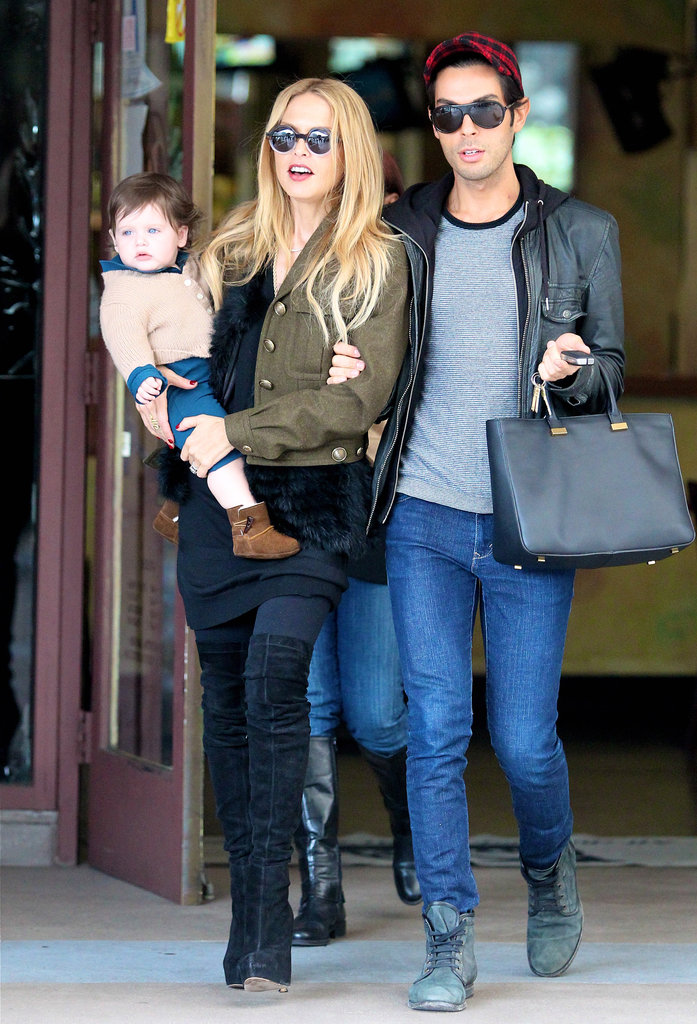 Joey Maalouf and Rachel Zoe took Skyler Berman to Newsroom.
