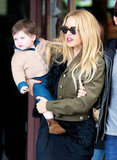 Rachel Zoe had Skyler Berman along for her day out.