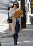 Natalie Portman Takes Her Married Self to Lunch in LA