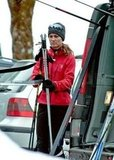 Pippa Middleton put away her skis.