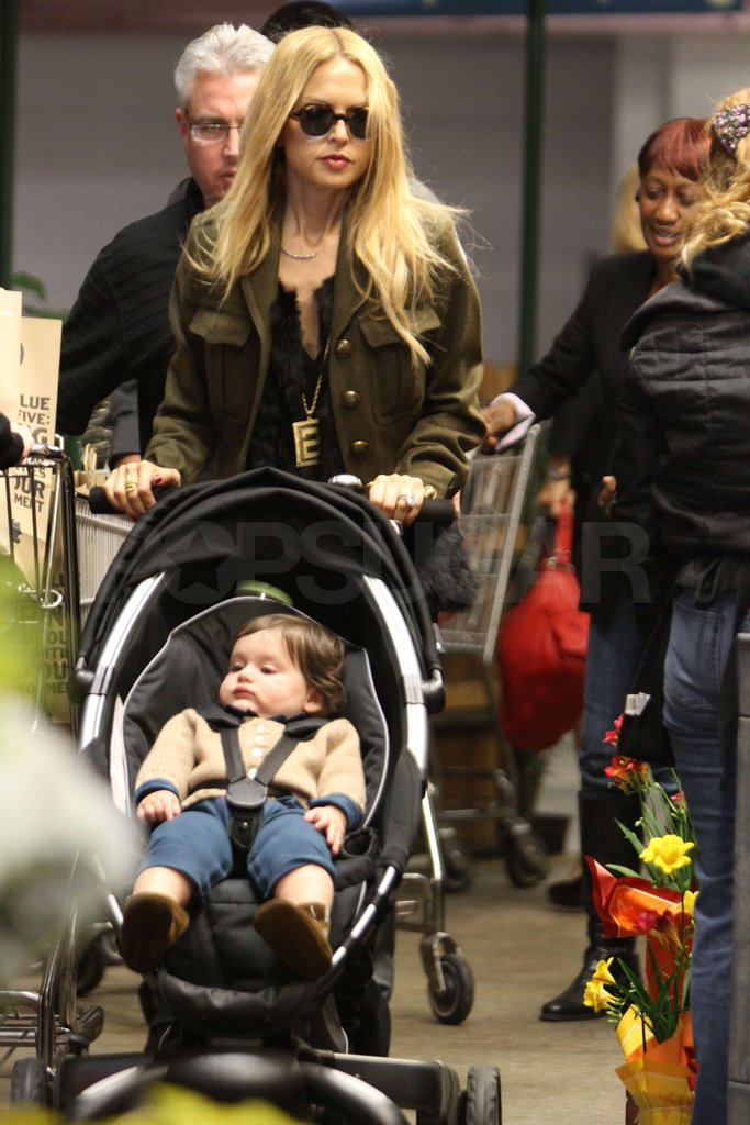 Rachel Zoe had Skyler Berman along for a Whole Foods stop.