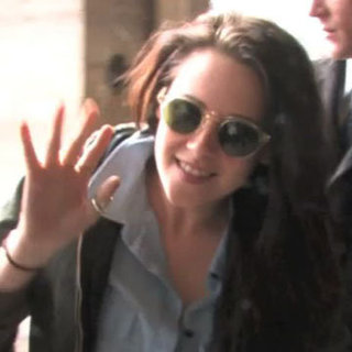 Kristen Stewart in Paris Ahead of Fashion Week Video